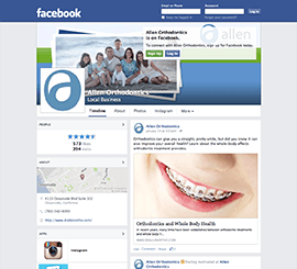 Allen Orthodontics Facebook